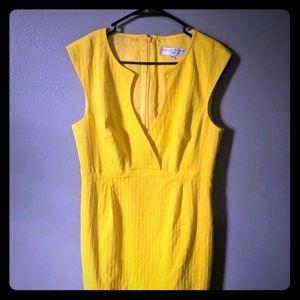 Trina Turk Yellow Dress size 12